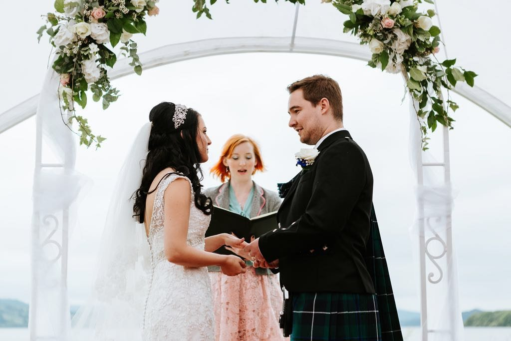 Holly Smith Celebrant London - Loch Lomond Wedding