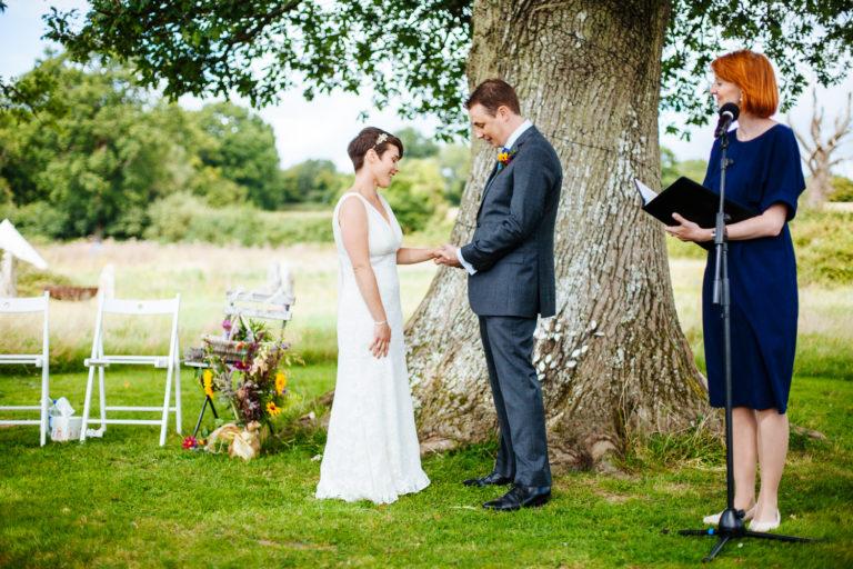 Celebrant London - Lesley and Matt Wedding