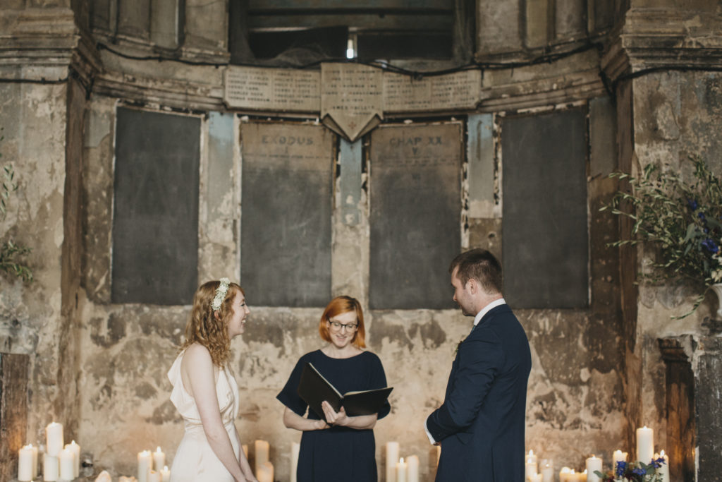 Holly Smith - Celebrant London - Asylum Wedding
