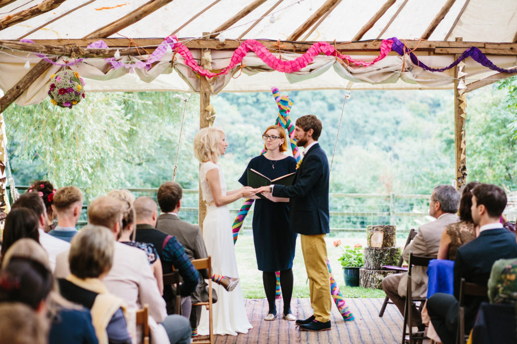 Holly Smith Celebrant London wedding