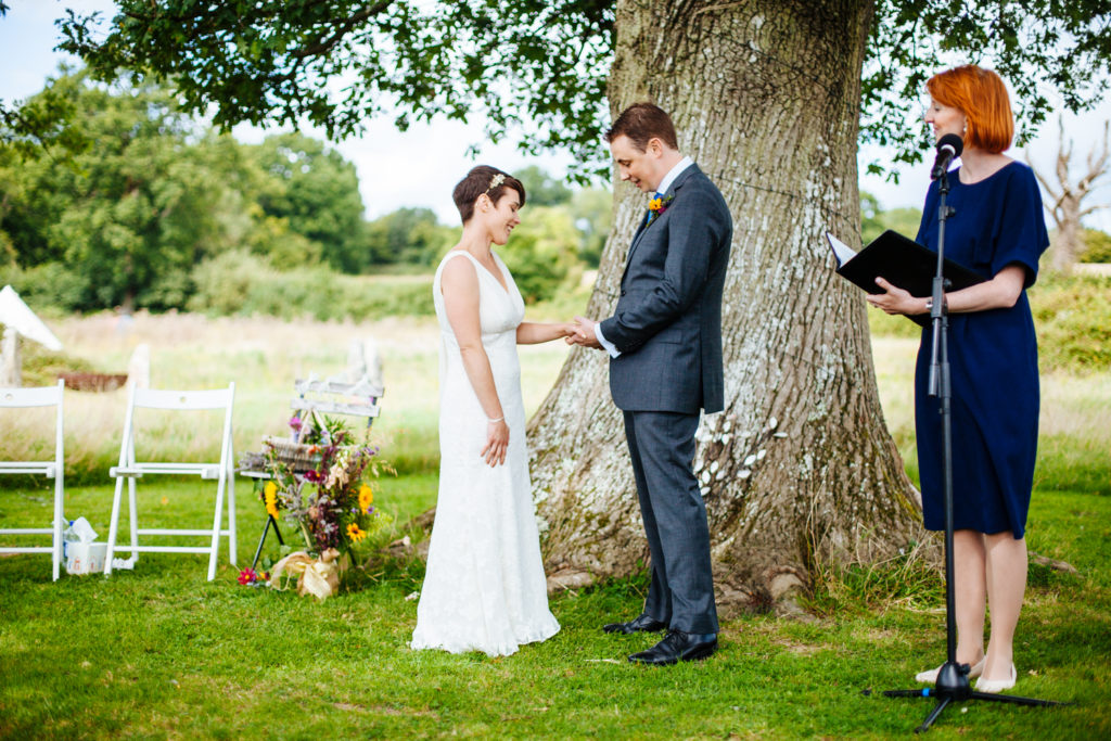 Celebrant London - Lesley and Matt Wedding