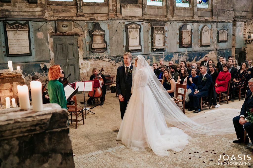 Celebrant London Holly Smith - Wedding at The Asylum Chapel